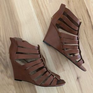 JustFab Chasey Wedge Sandals